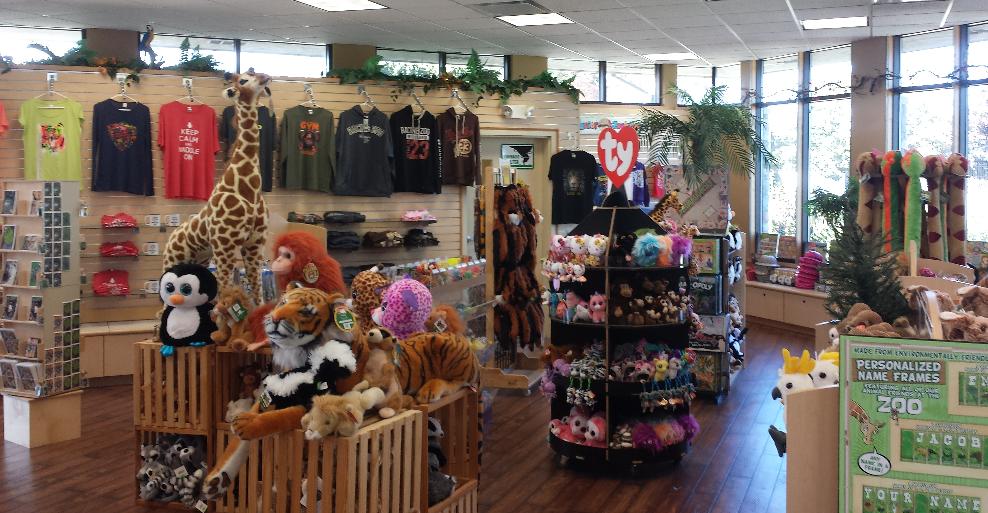 Zoo gift shop online
